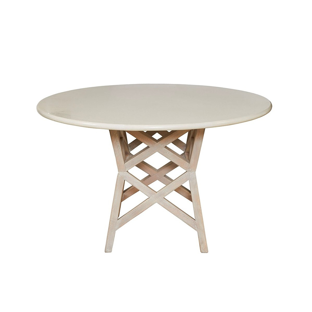 Bridge Dining Table Base By Selamat Designs