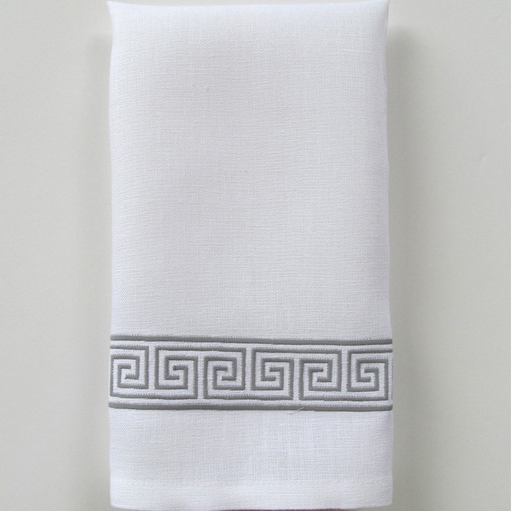 Alexia Narrow Embroidered Tip Towel By Legacy Home
