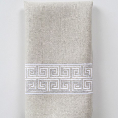 Alexia Wide Embroidered Tip Towel By Legacy Home