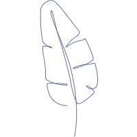 Blue Daisy Cross Cotton Guest Towels (Set of 4) By Henry Handwork