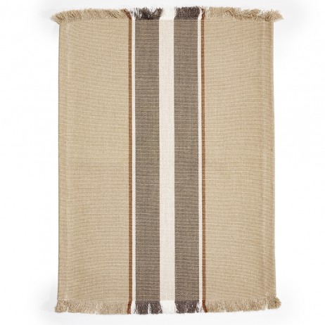 Brimfield Stripe Rug By Libeco