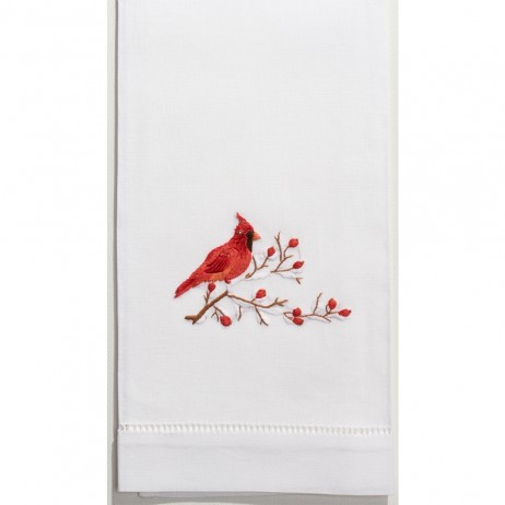Cardinal Cotton Guest Towels (Set of 4) By Henry Handwork