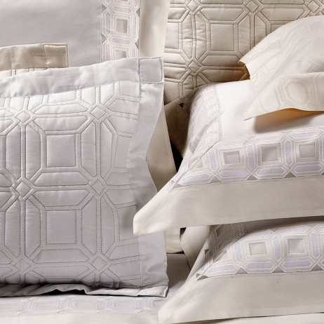 Versilia Embroidery Quilted &Sham By Dea Linens