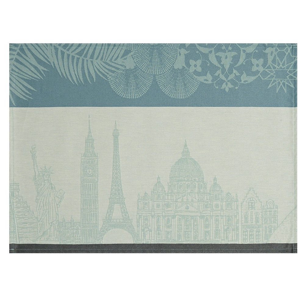 Escapade Coated Placemats (Set of 4) By Le Jacquard Francais