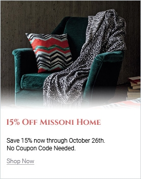 Save 15% On Missoni