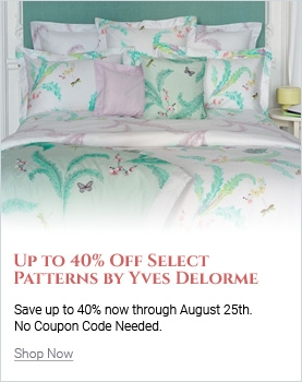 Save Up to 40% On Select Yves Delorme